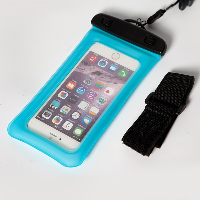 Outdoor Waterproof Cellphone Bag Waterproof Bag Quality TPU Bubble Armband Mobile Waterproof Case Dive Bag