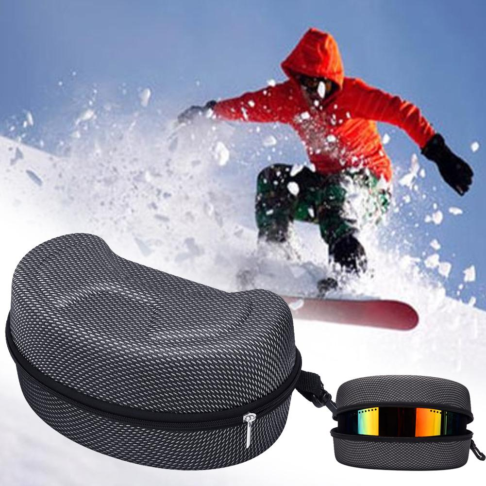 EV Protection Ski Eyewear Case Large Snow Skiing Goggles Box Shockproof Waterproof Snowboard Bag Skiing Equipment