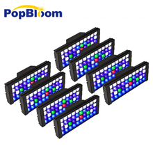 PopBloom Smart Programmable LED Aquarium Lighting Coral Reef Lamp Marine Fish SPS LPS Tank MJ3BP8 cree xpe plant growth lamp customize color 12x3w cree xpe led par38 coral reef grow lamp fish tank aquarium lamp free shipping