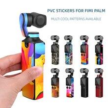 Màng Nhựa PVC Dán Da Cho FIMI Lòng Bàn Tay Gimbal Bỏ Túi Máy Ảnh Chống Trầy Xước Đề Can Hạt Tấm Bảo Vệ Cho Fimi Lòng Bàn Tay phụ Kiện