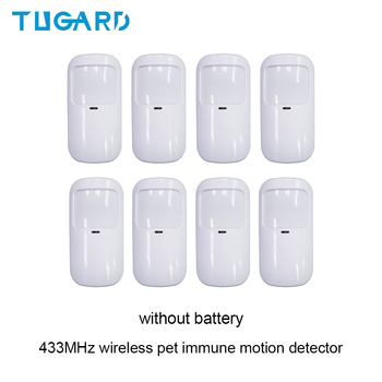 433mhz Wireless Sensor PIR Motion Detector Infrared Sensor Alarm PIR Pet-immune Detector Sensor for GSM WIFI Home Alarm System fuers 3pcs lot 433mhz wireless pir motion sensor built in antenna infrared alarm detector for gsm pstn home alarm system