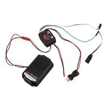 ABGN hot-rc voiture moteur ensemble sonore SG-SZ02 ESS voiture Audio Simulation son avec 2 pouces haut-parleur pour TRX4 Tamiya XB HB D418 Racin