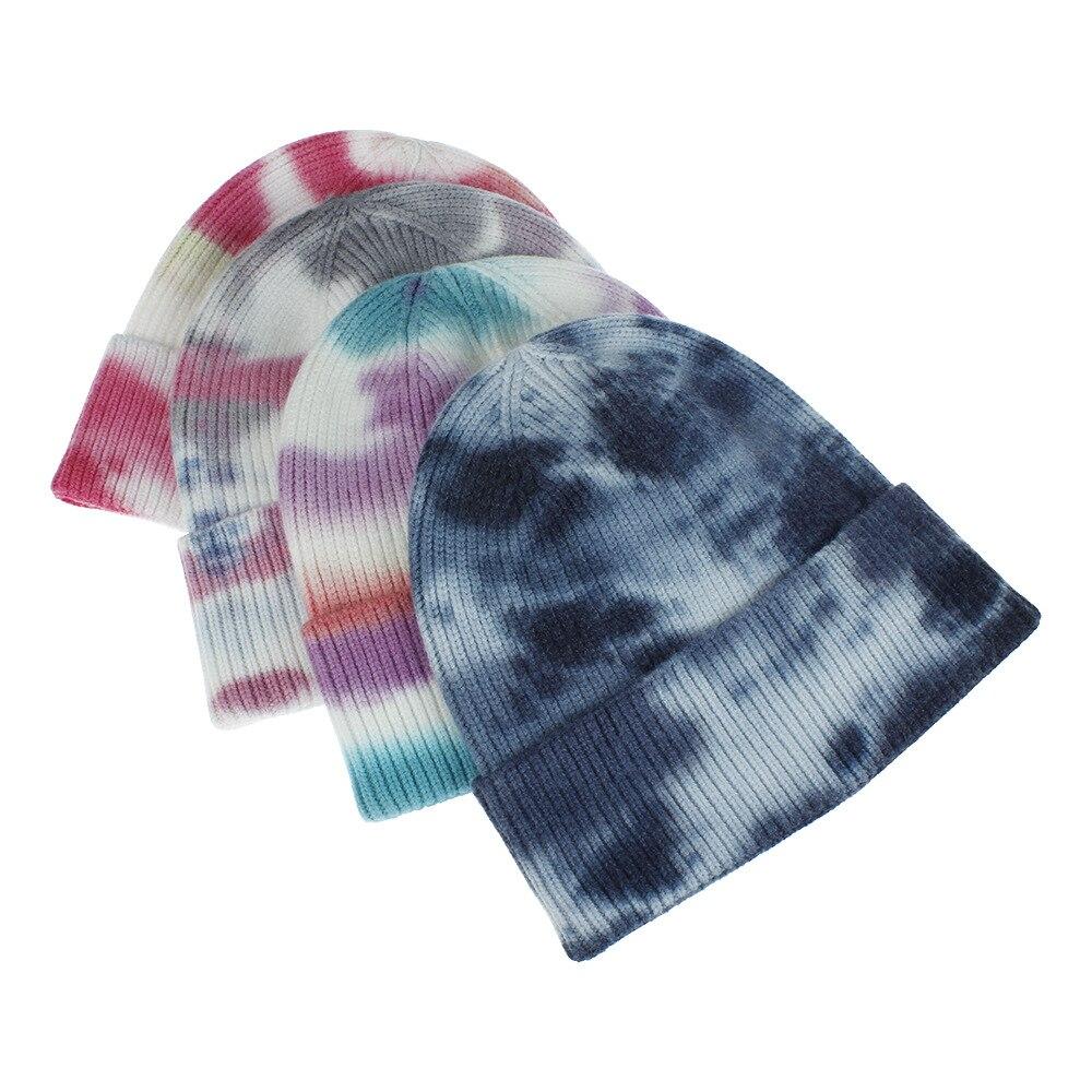 Женская зимняя шапка ruoshui в стиле ретро с краской женская