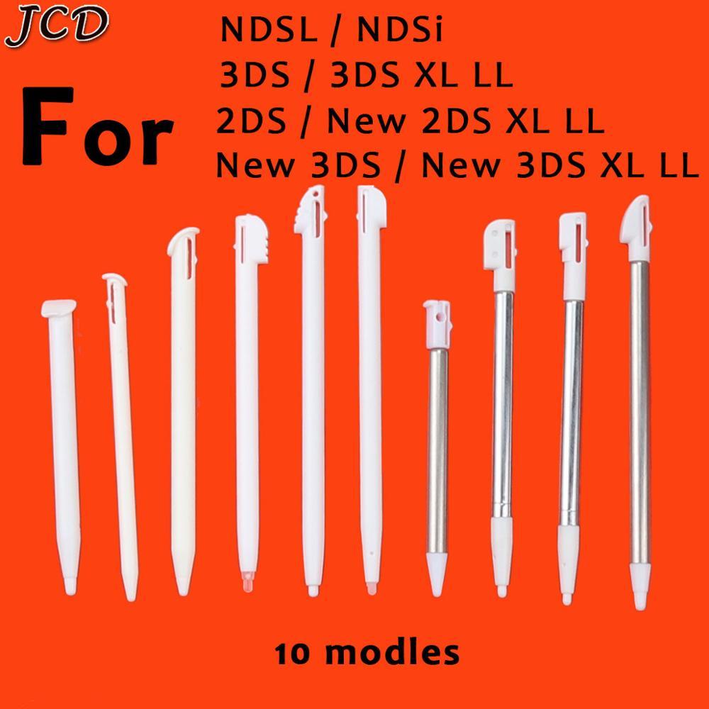 1 шт., металлические регулируемые стилусы для Nintendo 2DS 3DS New 2DS LL XL 3DS XL LL For NDSL NDSi