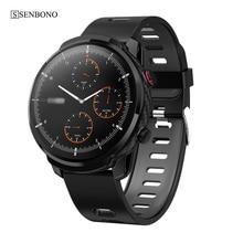 SENBONO S10 plus умные часы с полным касанием для мужчин и женщин, спортивные часы, пульсометр, умные часы для IOS, Android, телефон