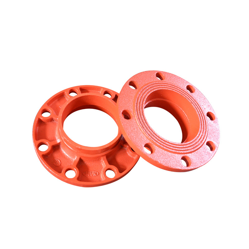 Clamp Groove Flange Clamp Iron Pipe Firefighting Pipe Fitting