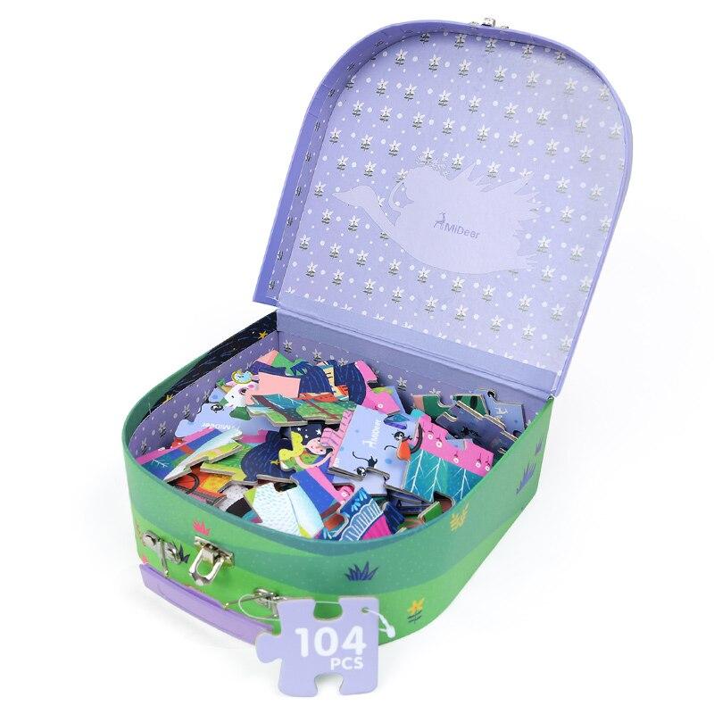 mideer 104 pcs puzzles criancas cognitivo quebra 02