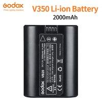 Godox Speedlite V350 VB20 Li-ion Battery DC 7.2v 2000mAh Bateria De Lítio-ion Para Godox V350N 350 S v350F V350O (Única bateria)