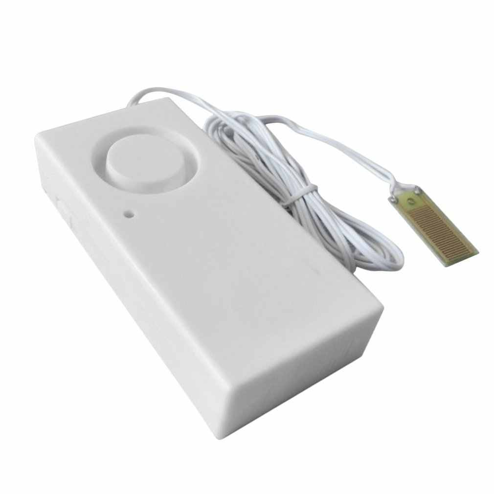 LESHP 누수 경보 감지기 130dB 물 경보 누출 감지기 감지 홍수 경보 오버플로 홈 보안 경보 시스템