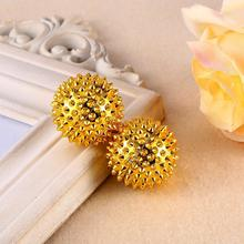 1 Pair Health Magnetic Physical Therapy Hand Acupuncture Needle Ball Massager