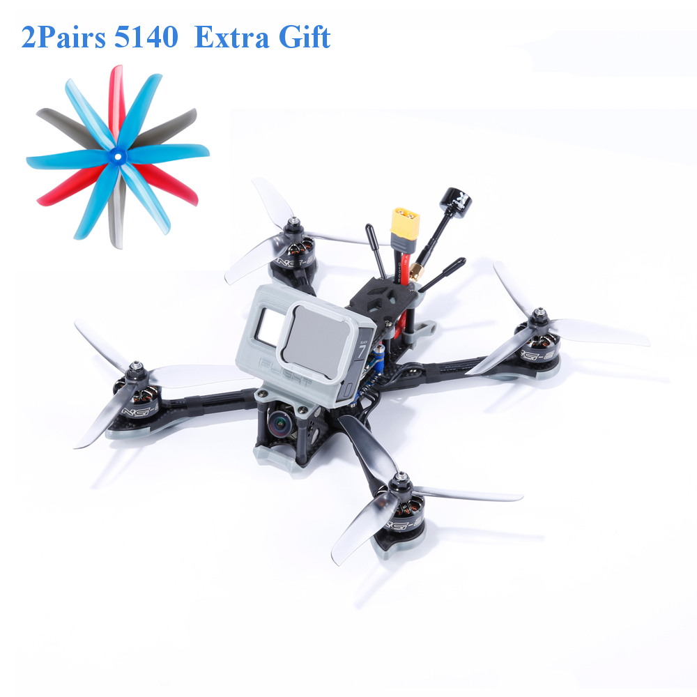 IFlight Nazgul5 227mm 4S 6S 5 Inch FPV Racing Drone BNF PNP SucceX-E F4 Caddx Ratel TBS Frsky 45A BLheli_S ESC 2207 2450KV Motor
