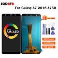 ЖК-дисплей для SAMSUNG GALAXY A7 2018 A750 A750F SM-A750F, ЖК-дисплей с сенсорным экраном и дигитайзером в сборе, Замена для SAMSUNG A750 LCD