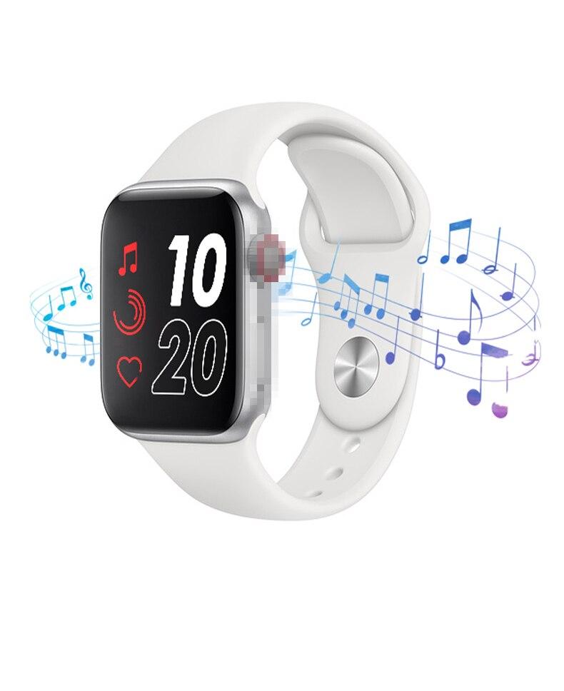 2020 Smart Watch T55 Men Women Bluetooth Call Music IP67 Waterproof Heart Rate Blood Pressure For Apple PK Iwo 8 10 11 12 Watch