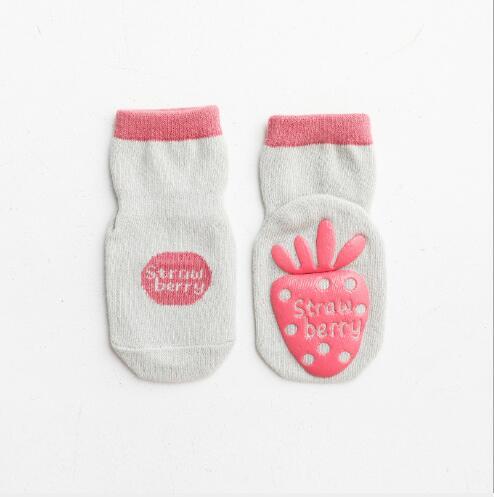 5pairs 0-5Year Autumn and winter new children's kids boy girl socks dispensing non-slip baby floor socks 6
