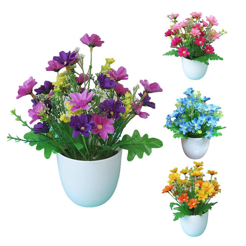 1pc Artificial Potted Flower Garden Diy