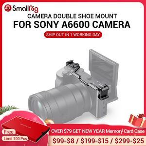 Image 1 - SmallRig נעל הר רילוקיישן צלחת עבור Sony a6600 מצלמה Vlog Rig עבור מיקרופון או פלאש אור לצרף 2498