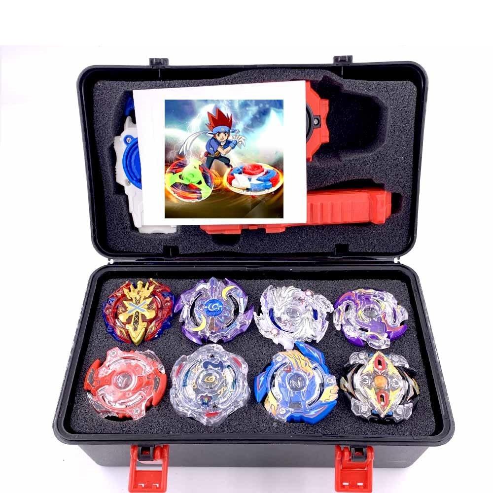 Tops lanzadores Beyblade Burst caja de embalaje de regalo Arena juguete venta de la hoja de la pluma de la Bayblade Drain Fafnir Blayblade