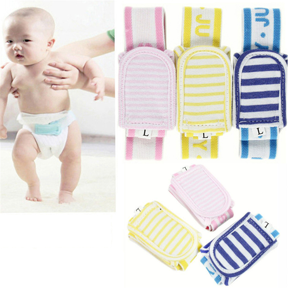 1//5x Diapers Buckle Baby Care Adjustable Soft Reusable Nappies Diaper Fixed'Belt