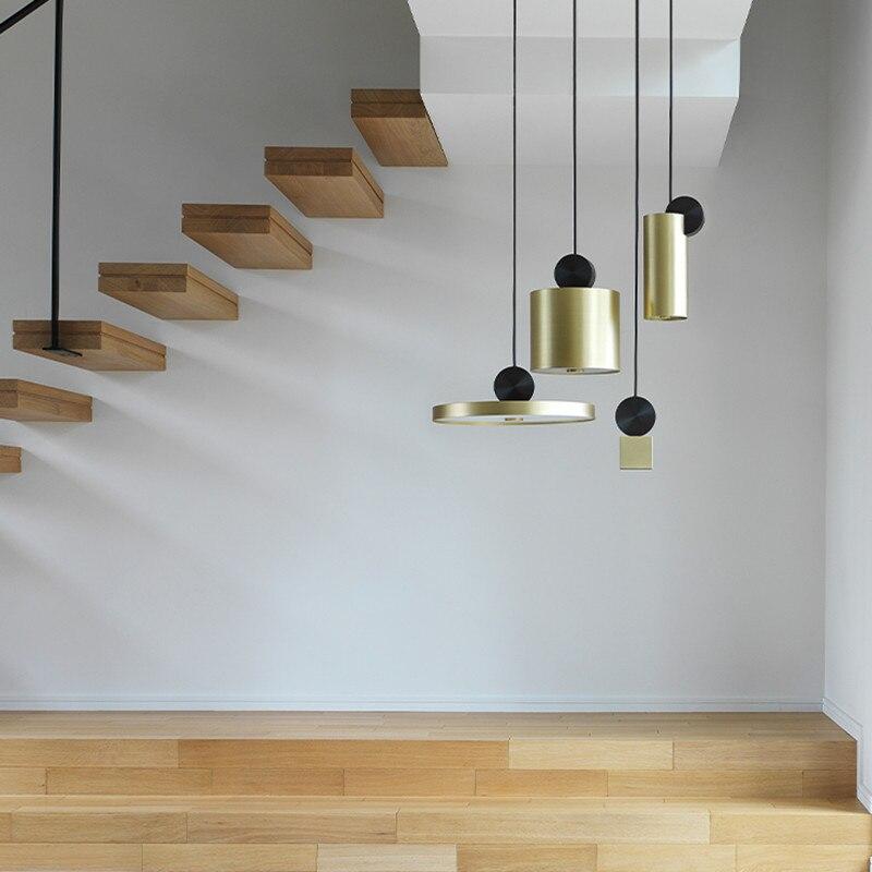 Nordic Pendant Light Loft Pendant Lamp Colorful Modern Pendant Ceiling Lamps Living Room Bedroom Illumination Hanging Light S