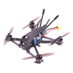 AlfaRC Herbie 112 65MM 2.5 Inch Toothpick Frame Kit RC Drone FPV Racing Quadcopter Freestyle Fit 1103 1104 1206 Brushless Motor
