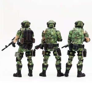 Image 2 - JOYTOY 1/18 action figures Russian army camouflage uniform military soldier figure model toys collection toy