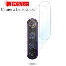 3 pçs câmera len fim de vidro temperado filme macio segurança para oppo realme 6 i 6 pro 6pro câmera lente protetor de tela filme acessórios