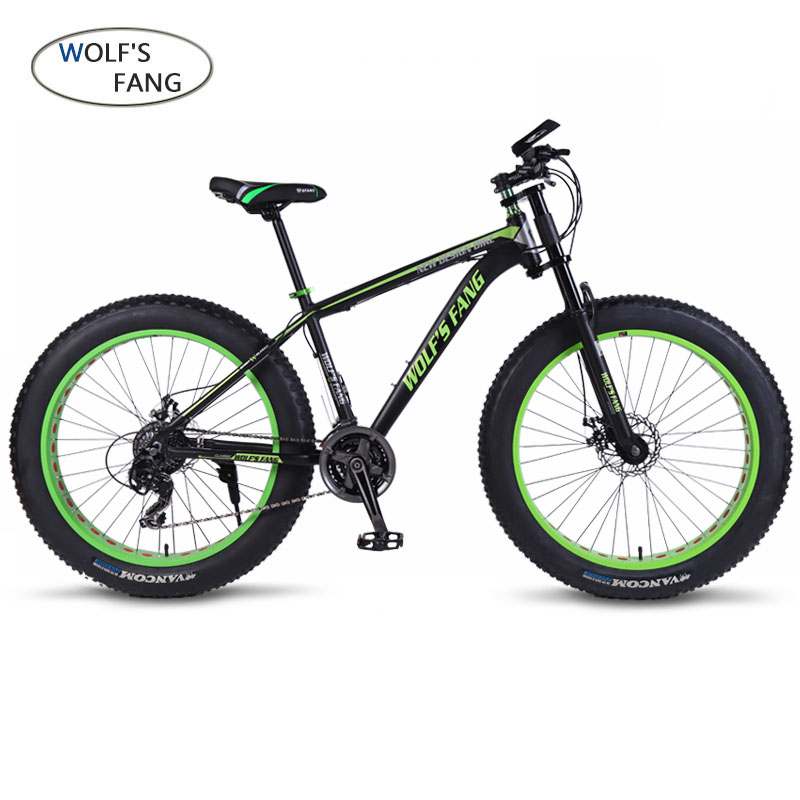 Wolf's Fang Mountain Bike Bicycle Aluminum Frame 7/21/24 Speed Mechanical Brakes 26