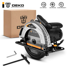 DEKO – scie circulaire électrique 185mm, machine de découpe multifonctionnelle, haute puissance