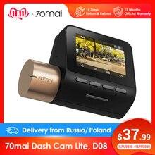 70mai Dash Cam Lite 1080P GPS Modules 70 MAI Lite Car Cam Recorder 24H Parking Monitor 70mai Lite Car DVR