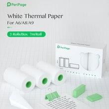 Peripage 56x30 мм 10 лет белая термобумага записывающая бумага