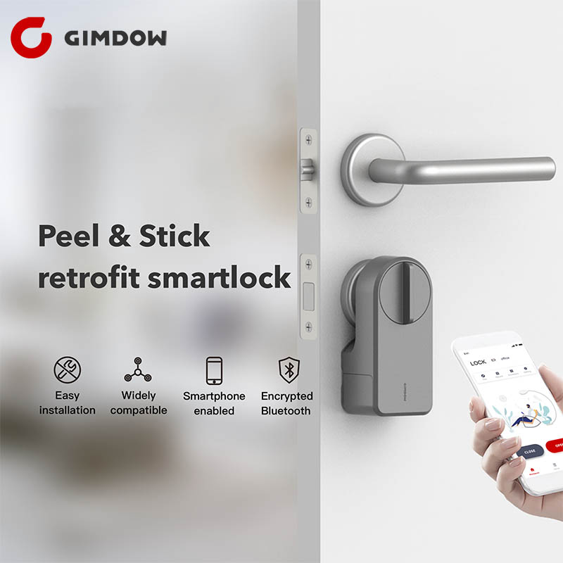 Xiaomi GIMDOW Security Electronic Door Lock APP WIFI Smart Remote Control Lock Digital Code Keypad Deadbolt For Hotel Apartment