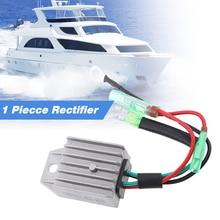 Rectificador regulador de voltaje para bote de 4 cables, compatible con Universal, de 2 tiempos, 15HP, para embarcación marina fuera de borda, aleación de aluminio, accesorios náuticos