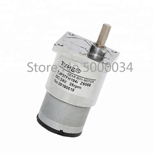 цена на China Factory Direct Sales 9v 12v 37mm high torque dc reductor gear motor for wholesaler