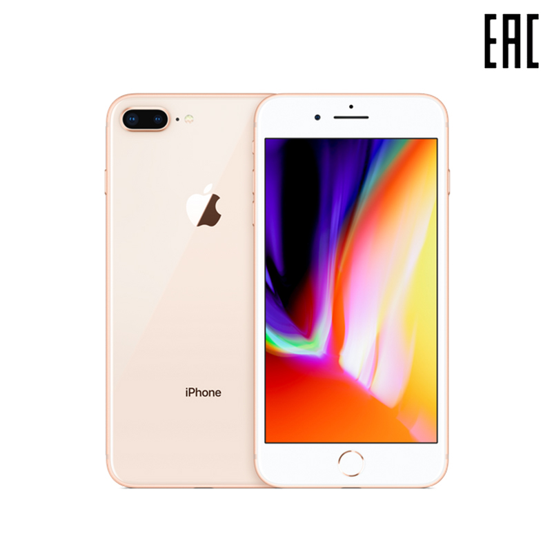 Smartphone Apple IPhone 8 Plus 64 GB 5,5 Inch With Wireless Charging [official Warranty]