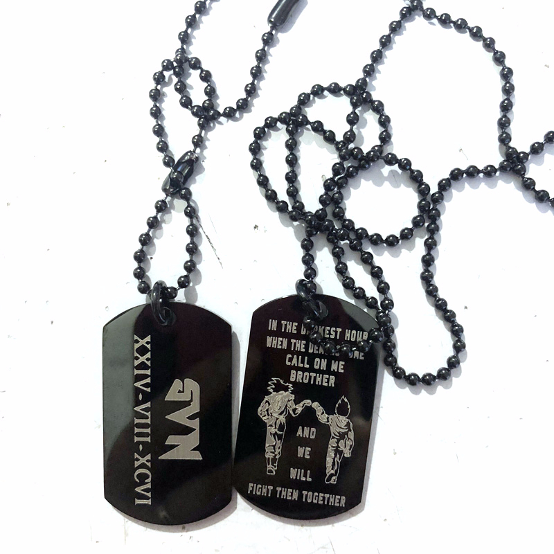 """ARMY LADIES I LOVE MY SOLDIER BLACK LETTERS  HEART MILITARY  DOG TAG /& 24/"""" CHAIN"""