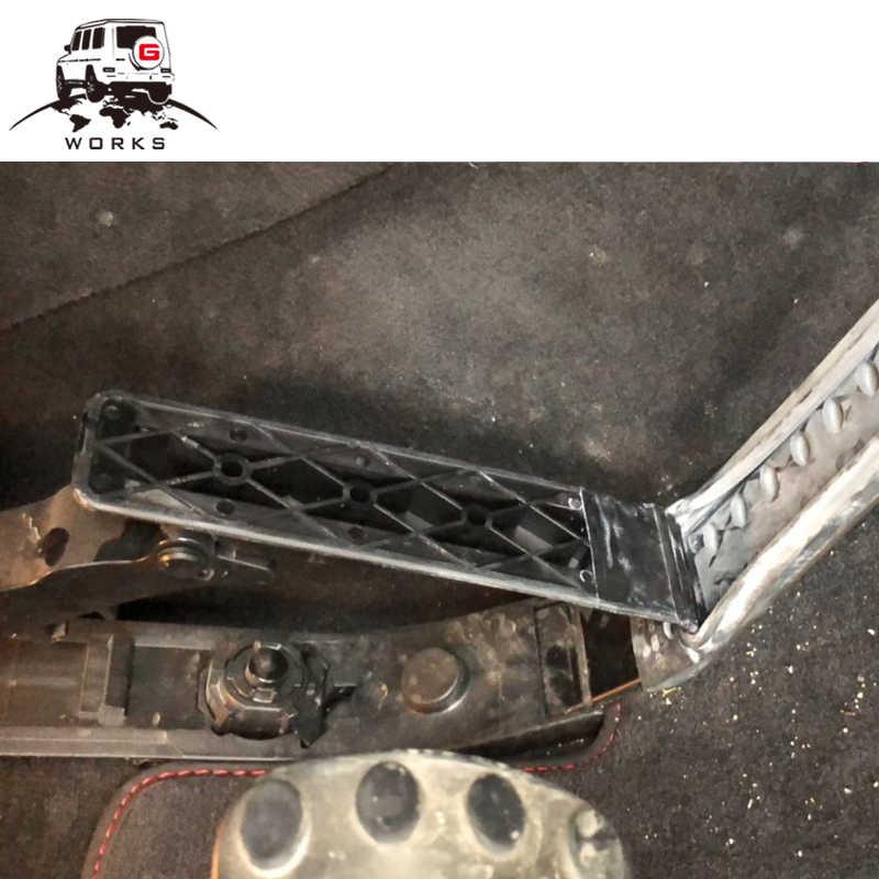 Pédale d'accélérateur de classe G w463 pour pédale de rupture de pédale de gaz en alliage d'aluminium g wagon g500 g550 g63 g65 g350