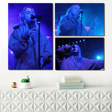 Billie Eilish Concert Wallpaper Canvas Posters Prints Wall Art Painting Decorative Picture Modern Living Room Home Decoration HD