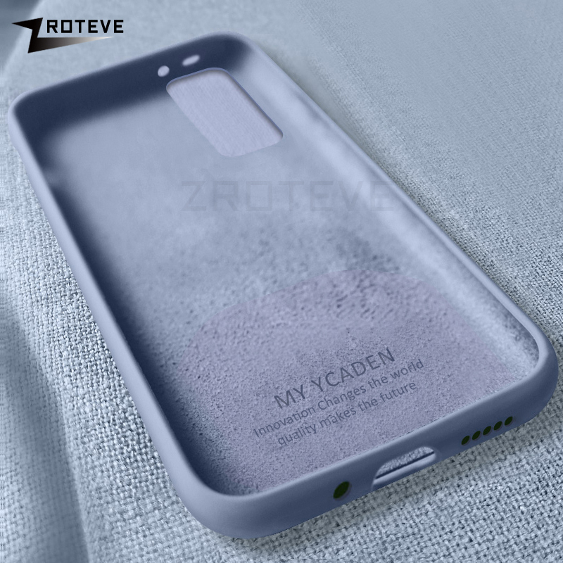 A51 A71 Case Zroteve Liquid Silicone Cover For Samsung Galaxy A51 A71 A81 A91 Coque For Samsung A51 A11 A21 A41 A01 M21 M31 Case