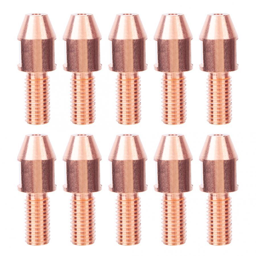 10 piezas máquina de soldadura por arco sumergido soplete boquilla M12 4,0mm/5,0mm para soldadura