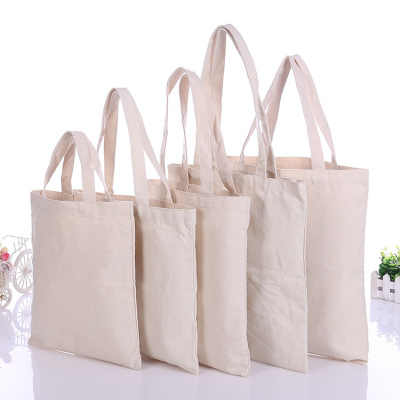 1PC High-Quality Women Men Handbags Canvas Tote bags Reusable Cotton grocery High capacity Shopping Bag