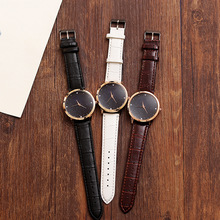 Cool Black Dial Women Watch Female Soft Sister Retro Style Student Fashion Simple Small Fresh Girlfriend Couple Reloj Hombre2020