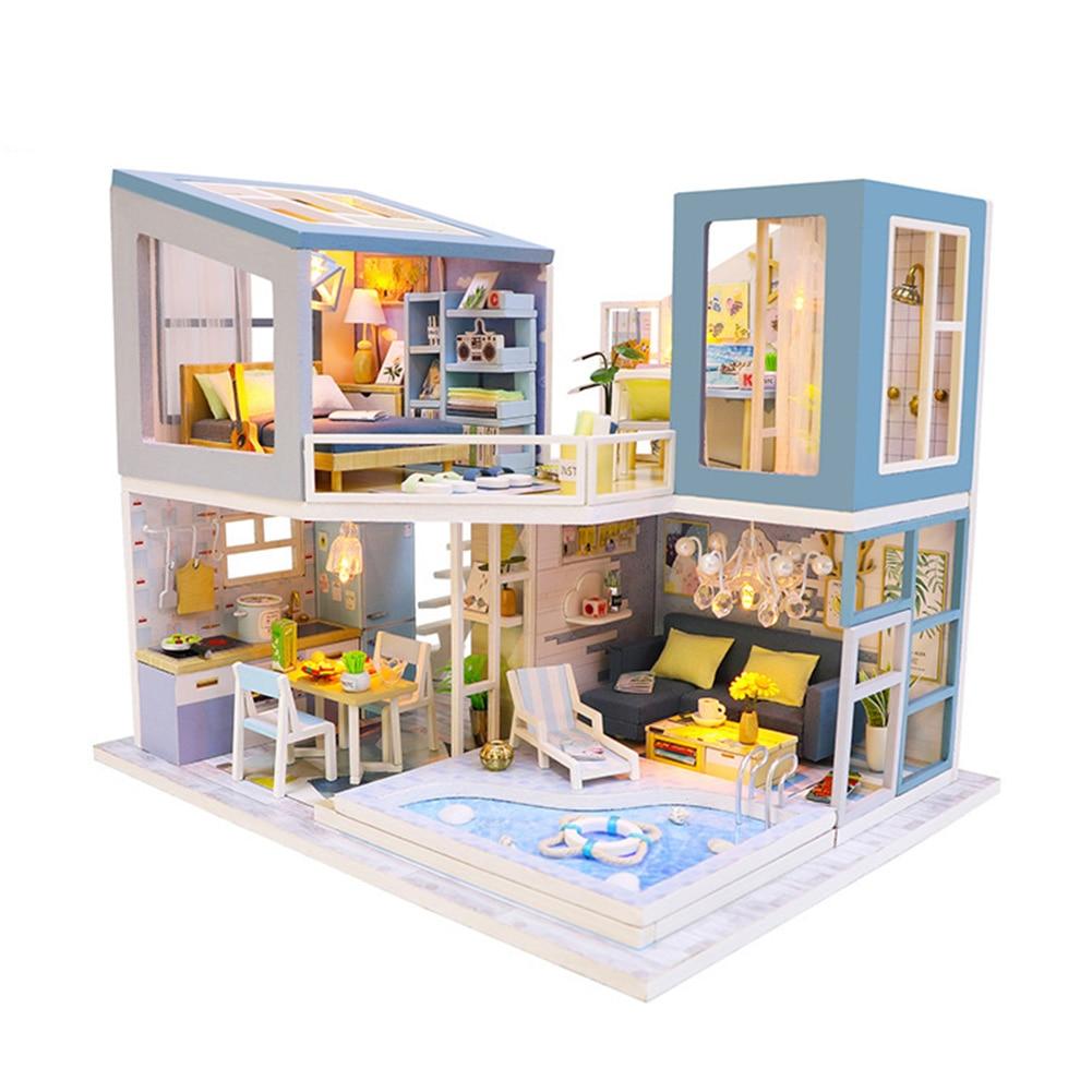 H73e4bab62ccf4bfd99f4cbad667f716dk - Robotime - DIY Models, DIY Miniature Houses, 3d Wooden Puzzle