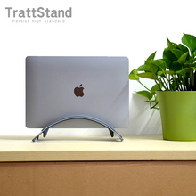Laptop-Stand 16-Arm-Notebook Apple Vertical Macbook Pro Aluminum Erected-Holder Space-Saving-Rack
