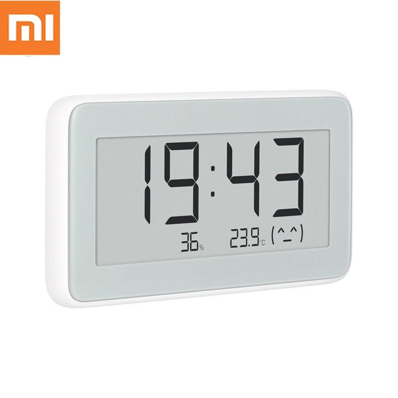 Original Xiaomi Mijia Bluetooth Temperature Humidity Sensor E-link LCD Screen Digital Thermometer Moisture Smart Linkage Mi APP