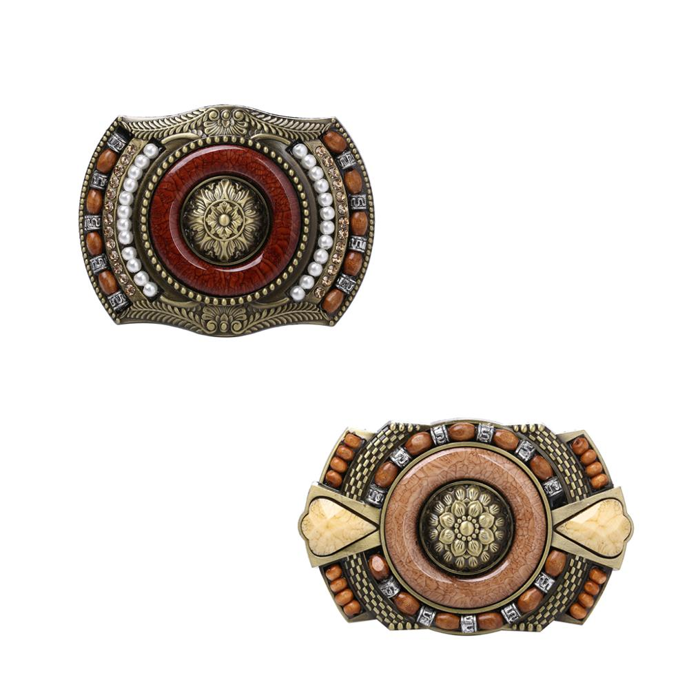 Retro Vintage Western Bohemian Boho Zinc Alloy Mens Belt Buckle Novelty Gift for belt width 3.6-3.9cm
