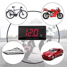 12V Display ABS LED Accessories Automotive Digital Mini Size Motorcycle