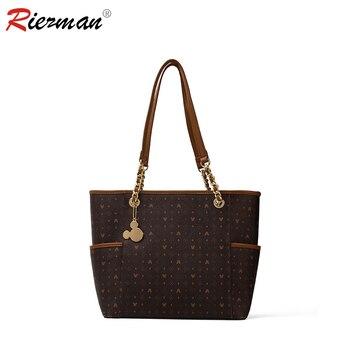 RIEZMAN Vintage Womens Hand bags Luxury Designers Handbags Women Shoulder Bags Female Tote Fashion Brand Purses