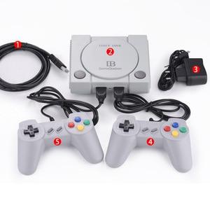 Image 4 - Mini 16Bit En 8Bit Tv Game Console Ingebouwde 648 Games Av Met Dual Gamepad Controles Retro Familie Klassieke Handheld game Spelers