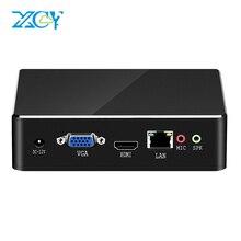 XCY Mini PC Intel Core i7 7500U i5 7200U i3 7100U DDR3L mSATA 4K HDMI VGA 2.4/5.0G WiFi Bluetooth Gigabit LAN 6xUSB Windows 10