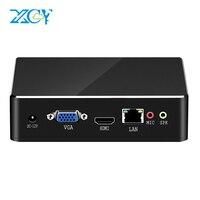 XCY Mini PC Intel Core i7 7500U i5 7200U i3 7100U DDR3L mSATA SSD 4K HDMI VGA WiFi Gigabit Ethernet Windows 10 Linux Mini ITX|Mini PC|Computer & Office -